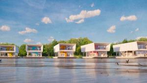 Из-за глобального потепления: в Великобритании представили проект плавучих домов